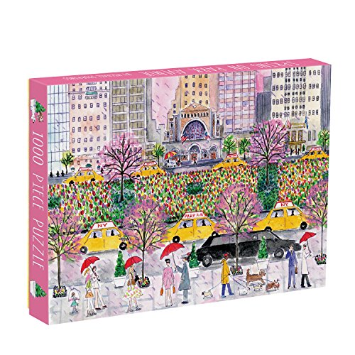 Galison Michael Storrings Spring On Park Avenue Puzzle (1000 Piece)