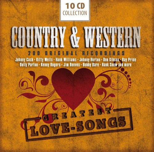Johnny Cash - Country & Western 200 Greatest Love Songs - Zortam Music