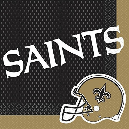 Amscan Luncheon Napkins - New Orleans Saints ()