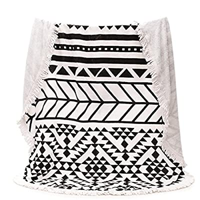 Jingzou Cotton round seaside beach towel bath towel