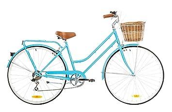 Reid Bicicleta para mujer retro vintage 7 marchas 28, 52 cm Marco ...
