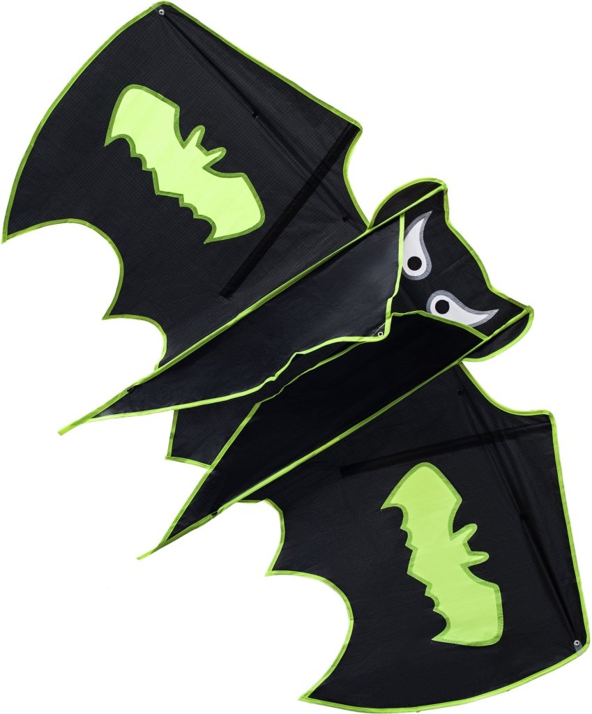 NICELY HOME Kite Batman for Kids and Adults - Large Size Cute Design Perfect for Outdoor Activities - Easy to Assemble Launch & Fly – Best Quality Built To Last by NICELY HOME