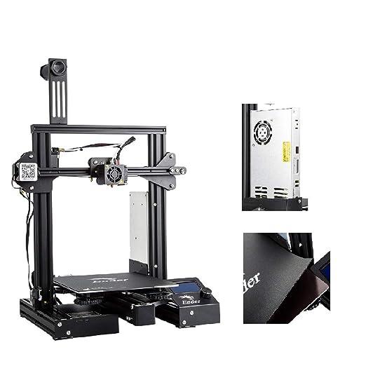 Impresora 3D Creality Ender 3 Pro instalada con MeanWell Power ...