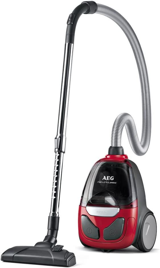 AEG CyclonClassic Aspiradora sin bolsa compacta con cepillo ...