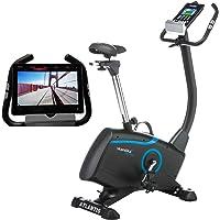 Skandika Atlantis Vélo d'appartement ergomètre - Appli pour Smartphone iconsole et Fonction Google Street View  –  Bluetooth – 12 Programmes -  Max. 150 kg -  Inertie 10 Kg