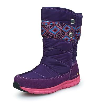 03a891387ce47  TOBATUY  女の子 スノーブーツ キッズ ブーツ 雪用ブーツ 子供靴 長靴 ハイカット 防風