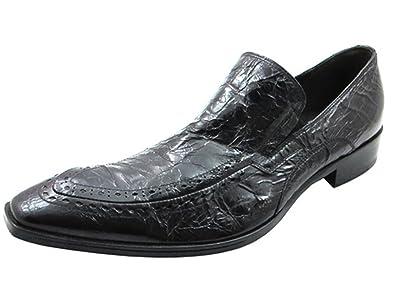 2508 Men's Italian Slip-on shoes Black