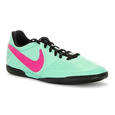 Nike Davinho Indoor Fussball Hallenschuhe green glow pink