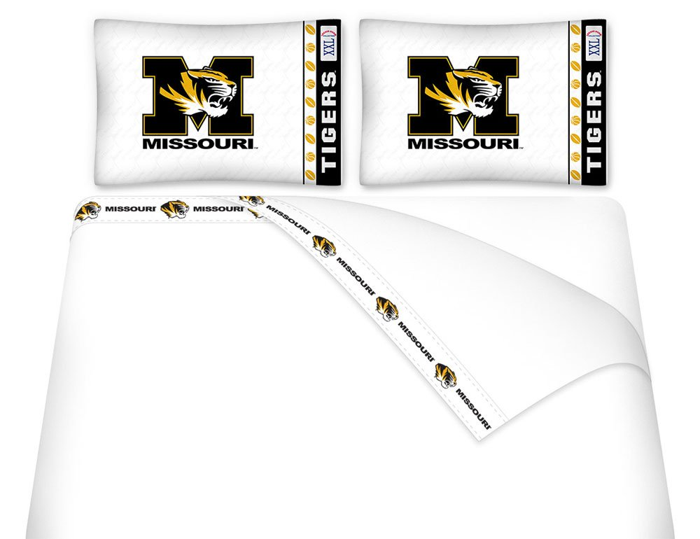 NCAA Missouri Tigers - 5pc BED IN A BAG - Queen Bedding Set
