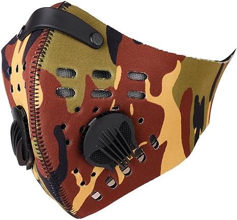 maschera antipolvere bicicletta
