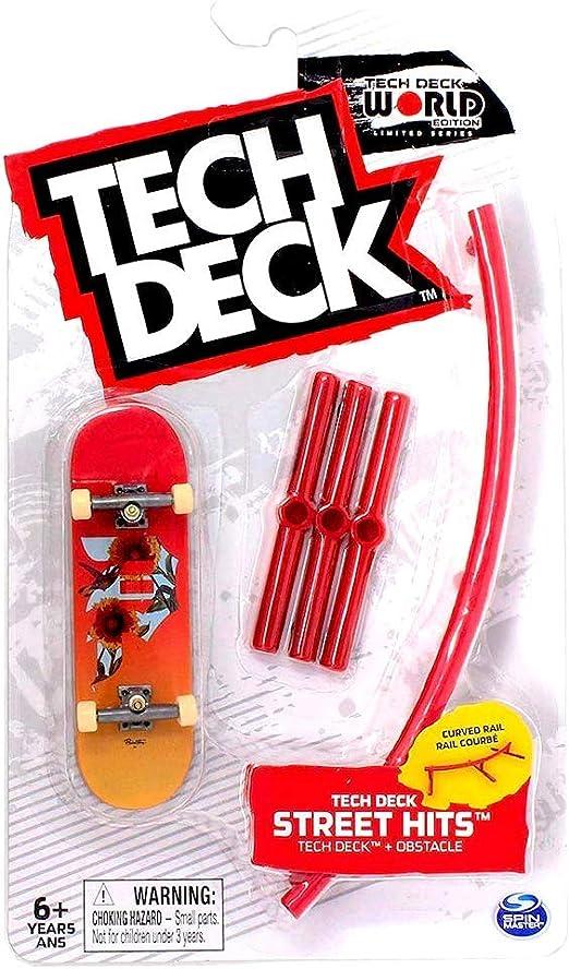 Tech Deck Street Hits Primitive Flat Bar Fingerboard Skateboard Free Shipping AM