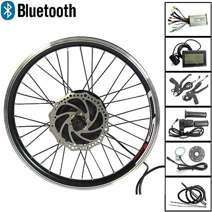 Electric Bike Conversion Kit Front Rear Wheel Ebike 26 Motor 36V 250W Bluetooth