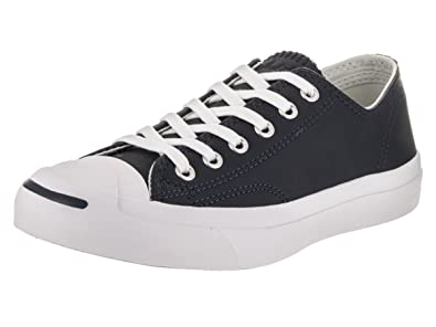 27da2ed27811 Image Unavailable. Image not available for. Color  Converse Unisex Jack  Purcell Jack Ox Obsidian Buff White Casual Shoe ...