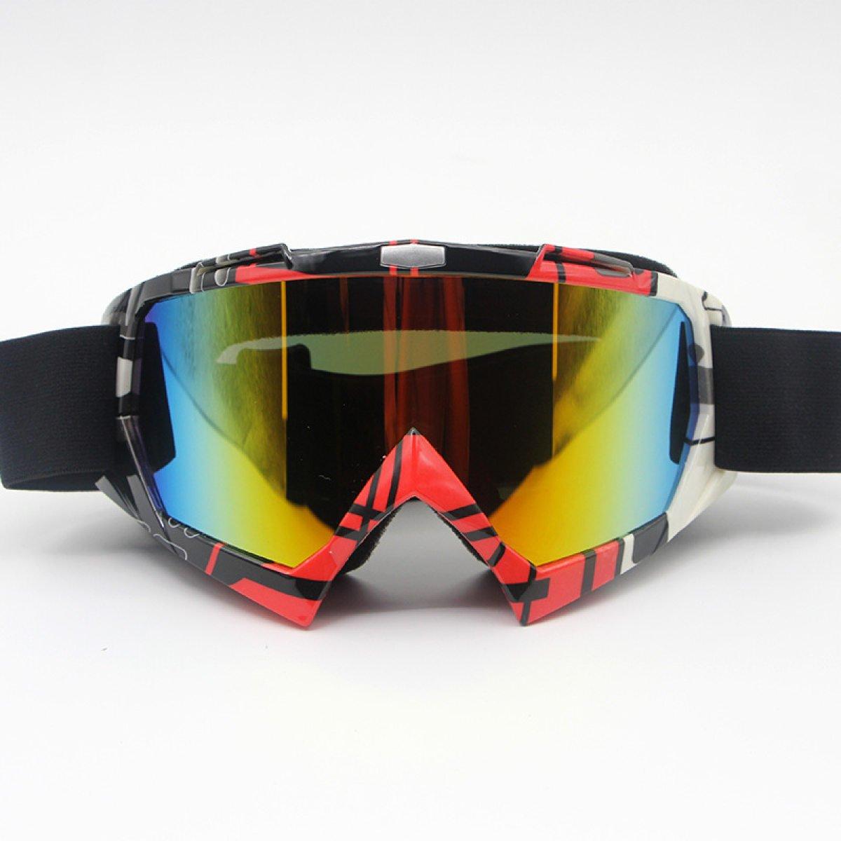 Motociclo Specchio Da Sci Occhiali Da Vista Equitazione Occhiali Da Vista Alpinismo Occhiali,C-OneSize