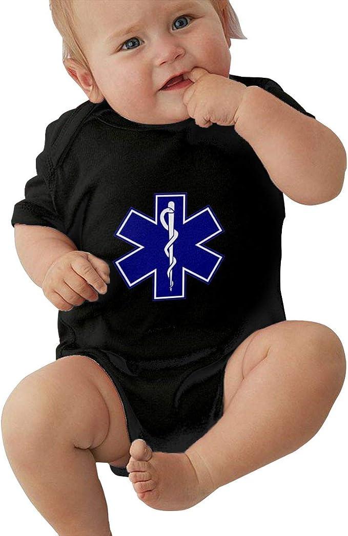 Waterskiing Love Baby Newborn Infant Creeper Short Sleeves Onesie Romper Jumpsuit