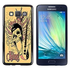 Dragon Case - FOR Samsung Galaxy A3 - myself becomes the faint flowe - Caja protectora de pl??stico duro de la cubierta Dise?¡Ào Slim Fit