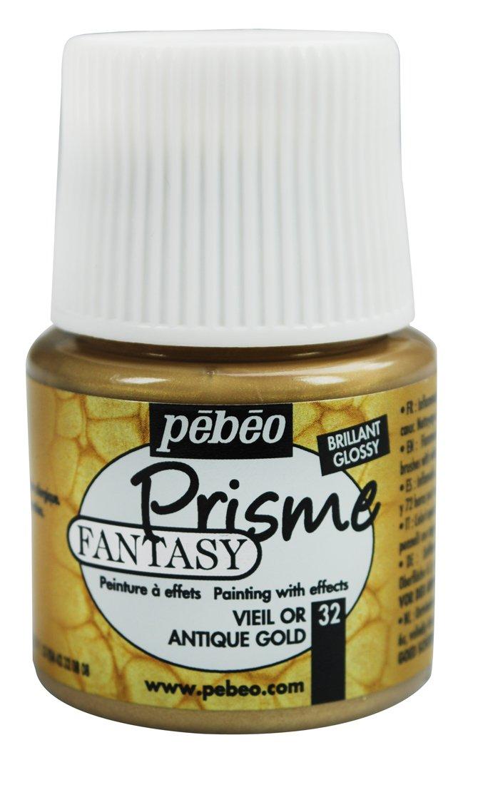 Pebeo-Fantasy Prisme, 45 ml, colore: dorato antico 166032