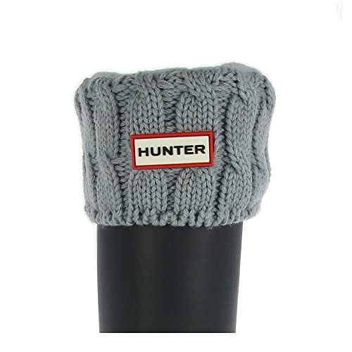 Hunter Puntada 6 Cable Calcetines Porcelana Azul