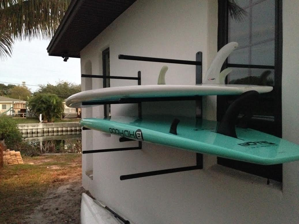 T-Rax SUP 4 Board Wall Rack