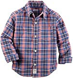 Carter's Baby Boys' Woven Buttonfront 225g529, Plaid, 6 Months
