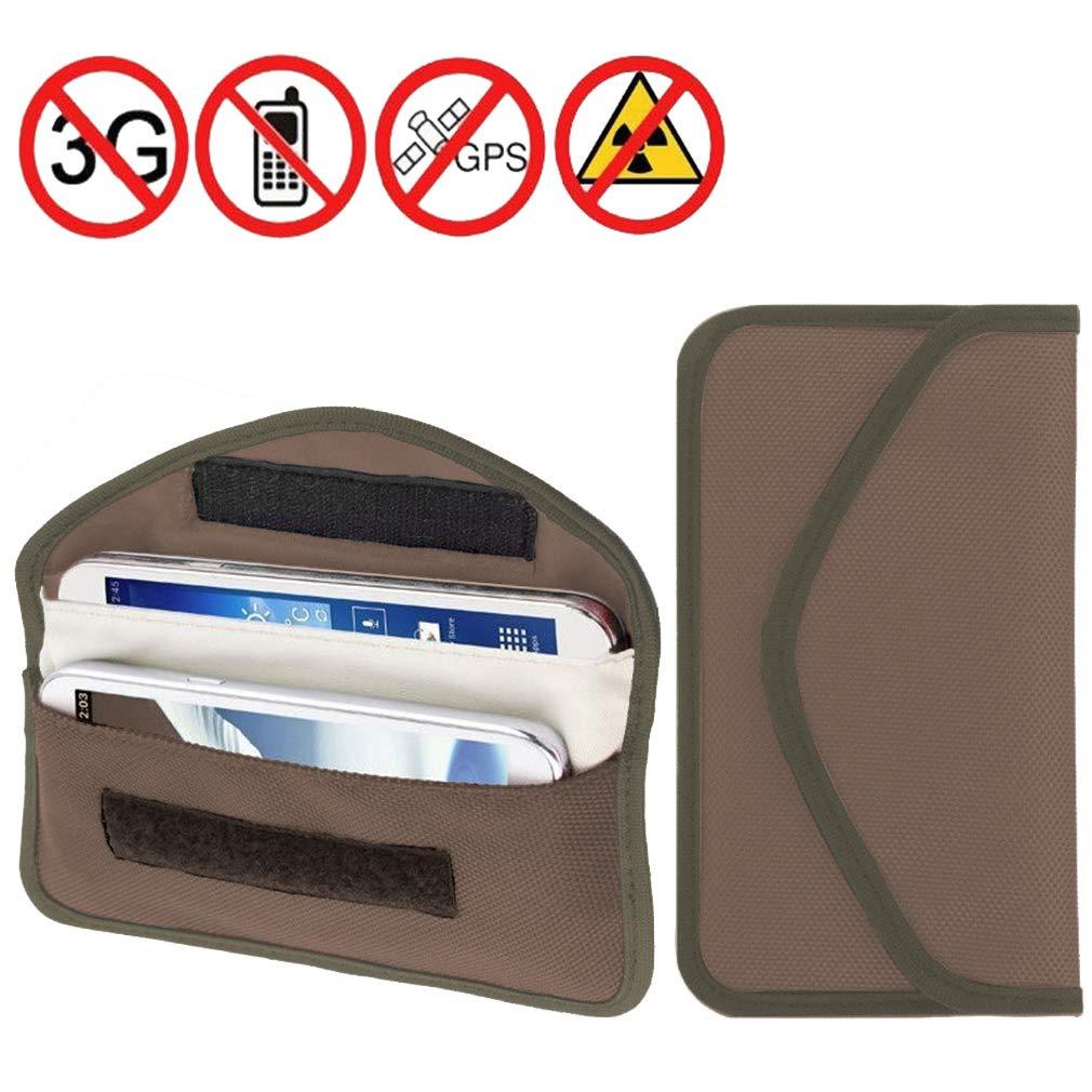 Hehong Signal Blocker Pouch Groß e Faraday-Tasche fü r Autoschlü ssel Telefone Keyless Entry Hehong Network technology Ltd