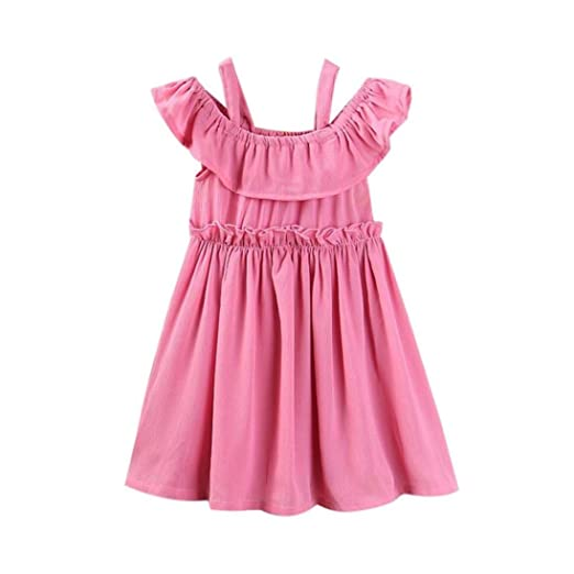 07dc19076dd9 Amazon.com  Sunbona Mommy and Daughter Matching Fashion Solid Off ...