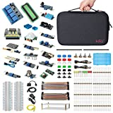 arduino raspberry pie - HSU Development Kit for Raspberry Pi 3 and Arduino with 16 Different Sensor Modules,Hundreds Electronic Components,other Necessary Accessories and Big Carrying Case (Advanced)