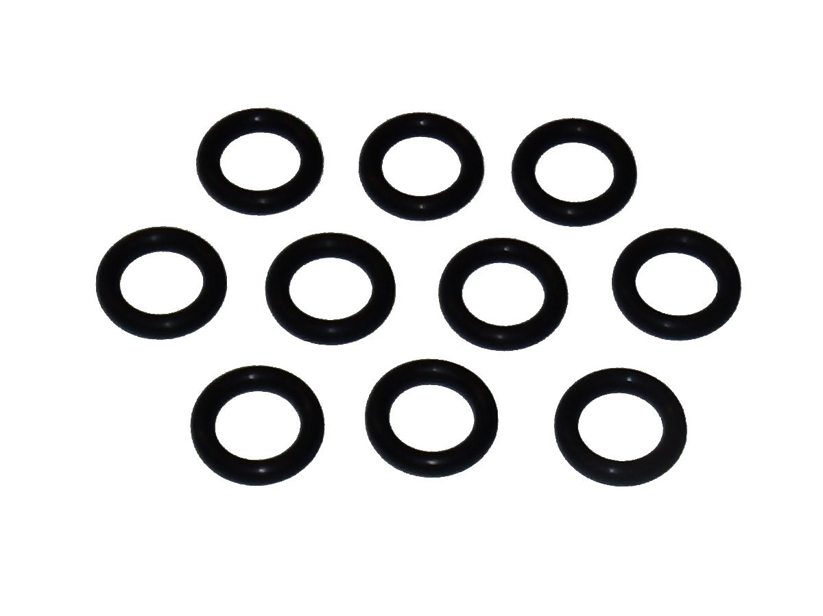 Captain O-Ring - Power Pressure Washer O-Rings for 1/4'' Quick Coupler, High Temperature Viton (10 pack)