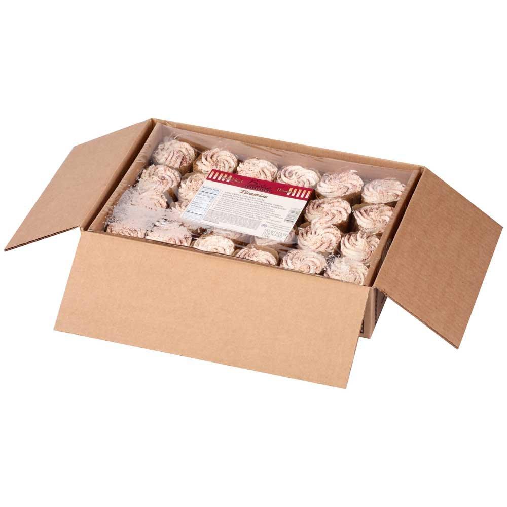 Bistro Collection Tiramisu Dessert Cake -- 24 per case.