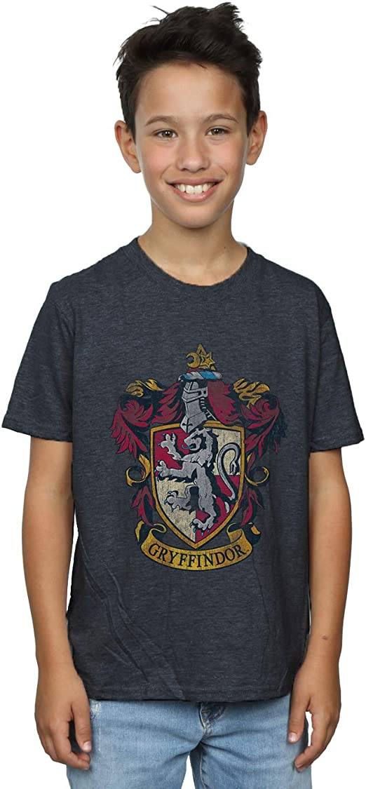 Harry Potter Gryffindor Crest Boy/'s T-Shirt
