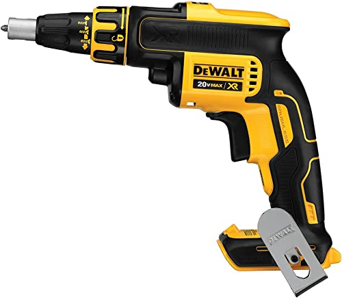 Dewalt DCF620BR 20V MAX XR Cordless Lithium-Ion Brushless Drywall Screwdriver Bare Tool Renewed