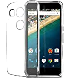Plus Exclusive Soft Silicone TPU Transparent Clear Case Soft Back Case Cover for LG Nexus 5X