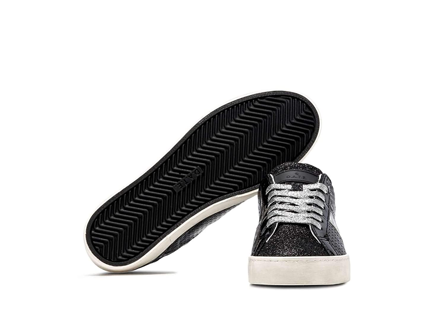 Sneakers Hill Black e a t Pelle In Nero D Donna Pong Low Scarpa OqzfTxIw