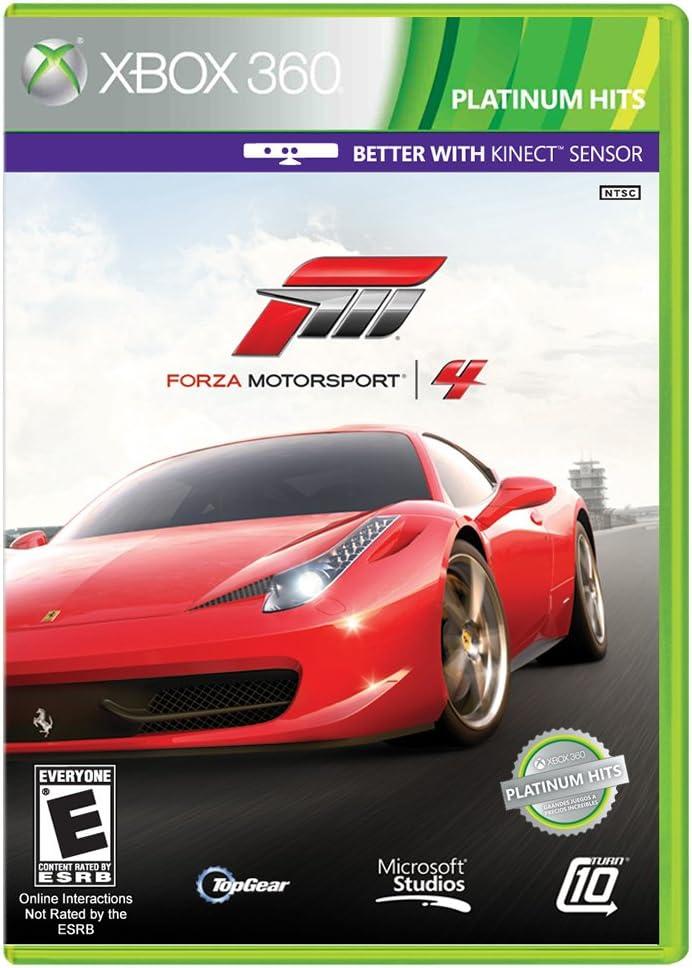 Microsoft Forza Motorsport 4 Xbox 360 vídeo - Juego (Xbox 360, Racing): Amazon.es: Videojuegos