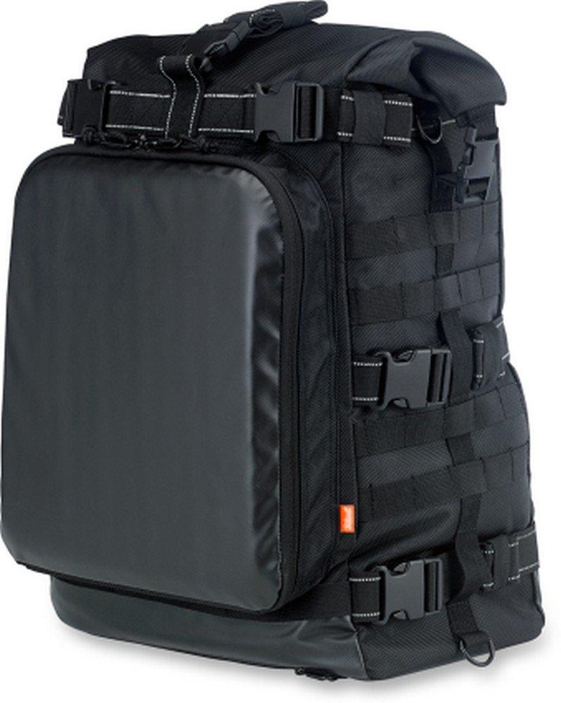 Biltwell Inc. Black EXFIL-80 Bag BE-XLG-80-BK