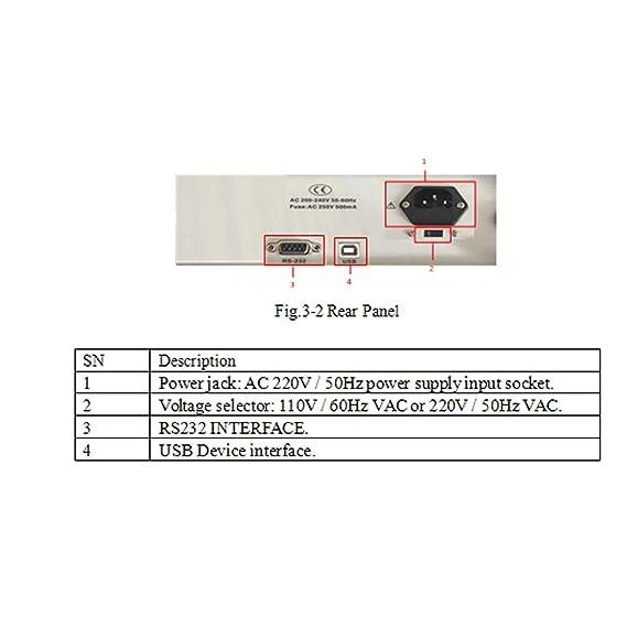 Duradero Medidor de LCR digital de sobremesa ET4402 Puente ...