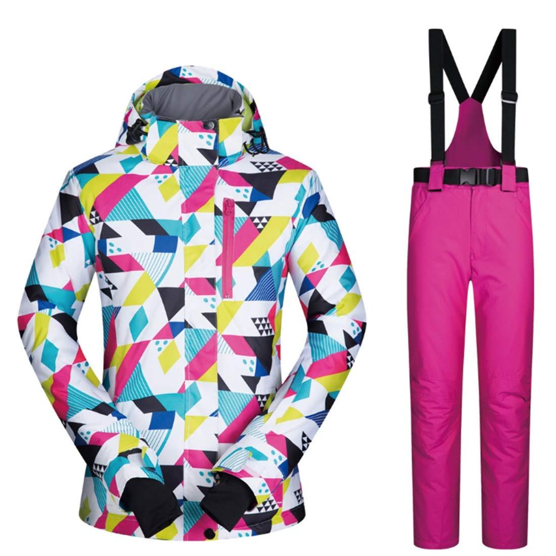 LINANNVA Giacca da Donna Winter Girl Coat Coat Coat Outdoor Sport Dress Giacca da Sci Antivento e Impermeabile (Coloree   08, Dimensione   M)B07KPZRF9QXL 05 | Per Essere Altamente Lodato E Apprezzato Dal Pubblico Dei Consumatori  | Garanzia di qualità e quantità  533bbd