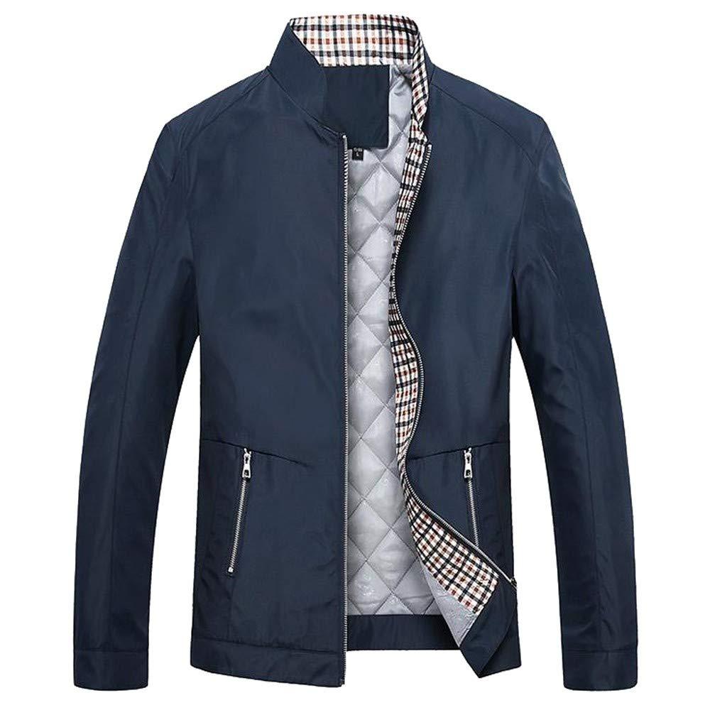 Pervobs Men Coat&Jacket SUIT メンズ US size: XS = Tag M ダークブルー B07KRVNKVB