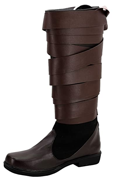 Amazon.com: GOTEDDY Luke - Botas de cosplay para Halloween ...