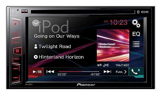 4 opinioni per Pioneer AVH-280BT 200W Bluetooth Black car media receiver- car media receivers