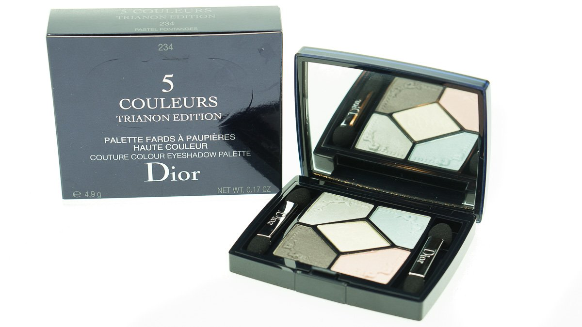 Dior 234 pastel fontanges 5 couleurs couture colour eyeshadow.