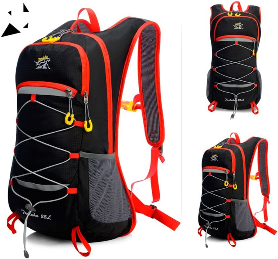 GWJ Bike Backpack, 18L Mochila Impermeable Y Transpirable En ...