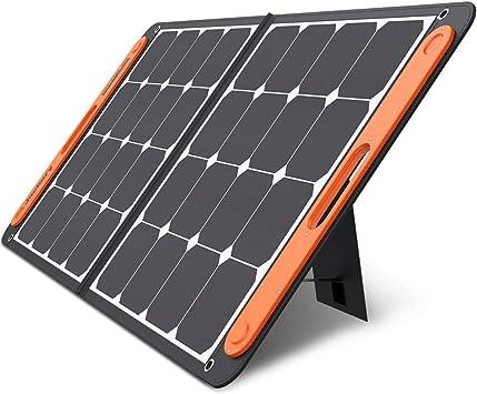 Jackery Solarsaga 100 W Pro Solar Panel para Explorer Portátil Solar Solar Cargador Solar Plegable para Camping de Verano Vacío Batería de Litio Alta ...