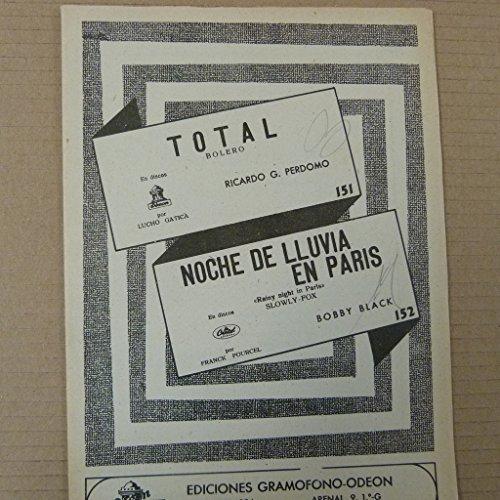 BAND PARTS bolero TOTAL + fox trot NOCHE DE LLUVIA