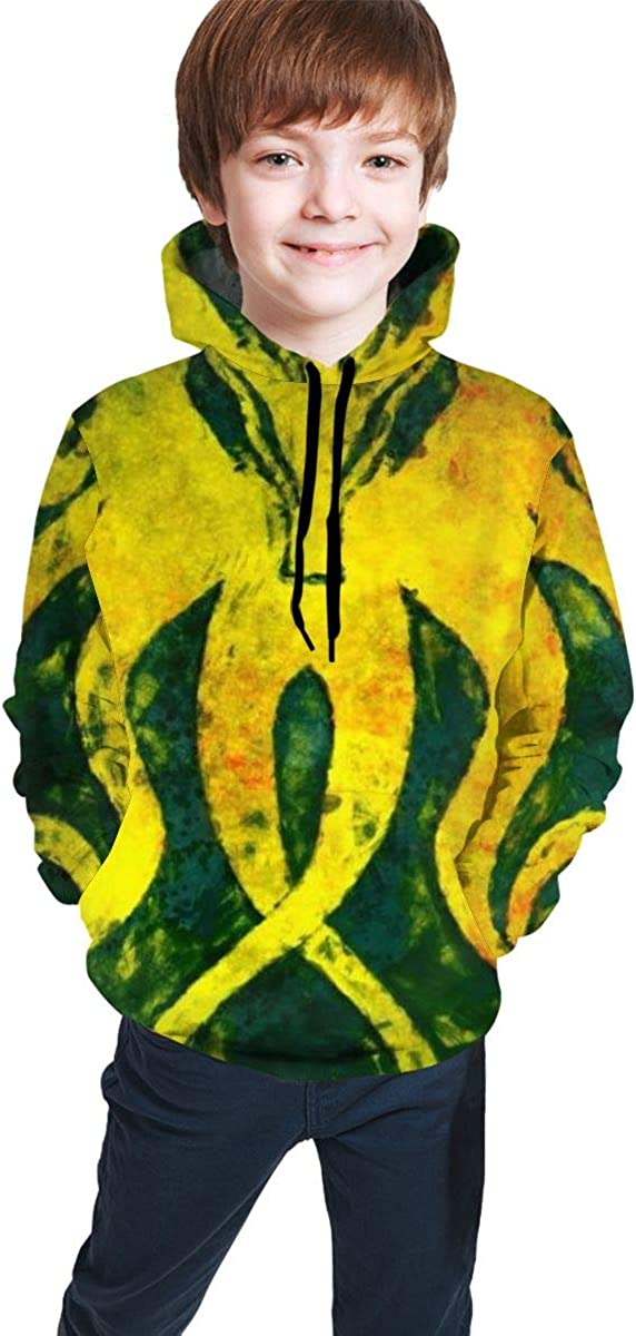 Kjiurhfyheuij Teen Pullover Hoodies with Pocket Octopus Soft Fleece Hooded Sweatshirt for Youth Teens Kids Boys Girls