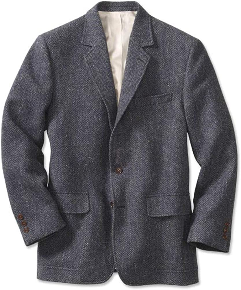 Orvis Lightweight Highland Tweed Sport Coat/Regular at  Men's Clothing store