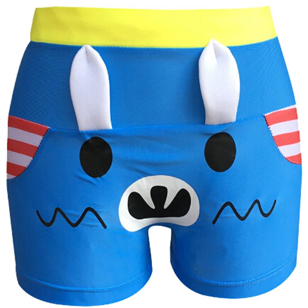 Greenery-GRE Kids Boys Cartoon Swimming Trunks Adjustable Swim Shorts Swimsuit Bottoms For Child 4-9 yrs
