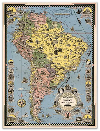 giant map of south america - 5