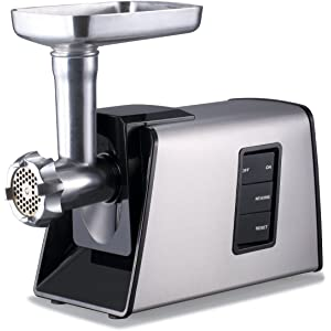 a3802638c81 Sunmile SM-G73 Heavy Duty Electric Meat Grinder and Sausage Stuffer Maker  1000W Max with