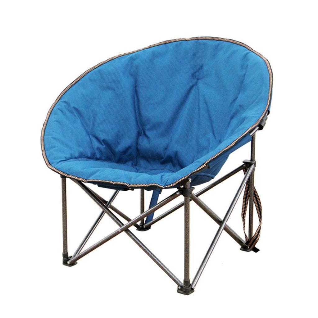 LLRDIAN Outdoor Klappstuhl tragbarer Zuhause Outdoor Stuhl Klappbarer Klappstuhl Lounge Sessel